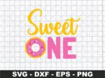 Sweet One SVG, 1st Birthday SVG