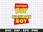 Toy Story Birthday Boy SVG