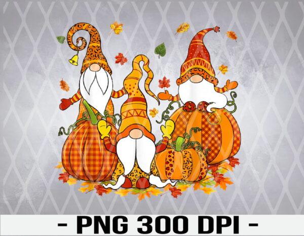 WTM 01 1 Vectorency Leopard Pumpkin Print Plaid Gnomes Fall Autumn Thanksgiving PNG