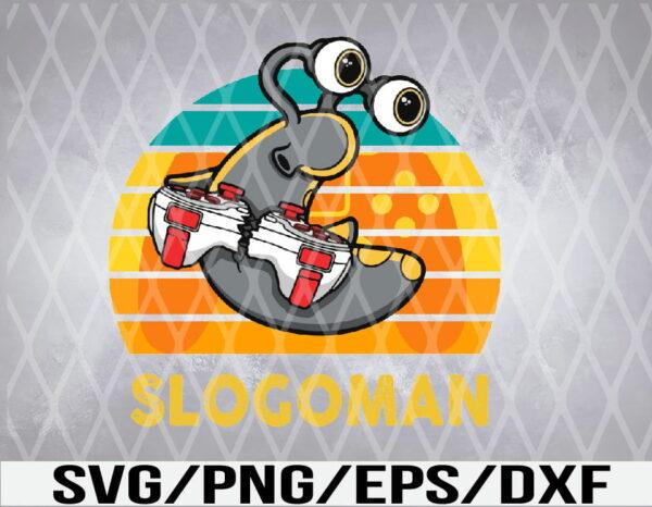 WTM 01 13 Vectorency Slogoman, Slogo Merch Youth Kids Men Women, Slogoman SVG, EPS, PNG, DXF, Digital Download