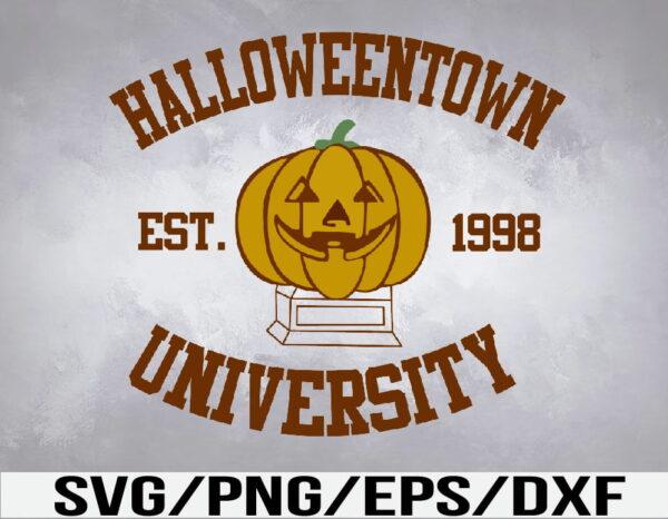WTM 01 34 Vectorency Halloweentown University SVG, Halloween SVG, Halloween Town Tee, Vintage Halloween, Funny Fall SVG, EPS, PNG, DXF, Digital Download