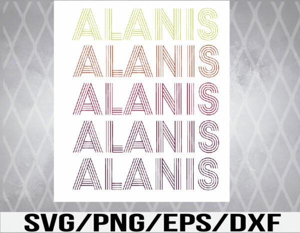 WTM 01 4 Vectorency Alani-Thing SVG, EPS, PNG, DXF, Digital Download