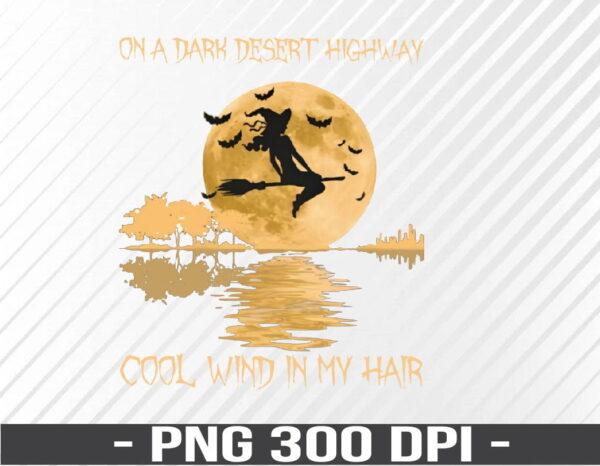 WTM 01 52 Vectorency A Dark Desert Highway PNG, Digital Download