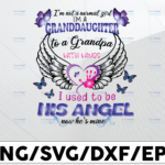 WTMETSY13012021 01 129 Vectorency I'm Not A Normal Girl I'm A Granddaughter To A Grandpa With Wings PNG,Heaven Quote, Grandpa, sublimation,Granddaughter,Wings png, Digital Download
