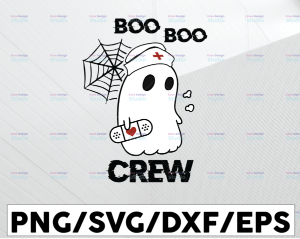 WTMETSY13012021 01 18 Vectorency Boo boo crew svg, dxf,eps,png, Digital Download