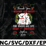 WTMETSY13012021 01 181 Vectorency Thank you momy and daddy for giving me life merry 1st christmas Shophia 2021 svg, dxf,eps,png, Digital Download