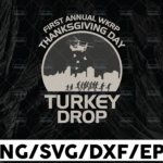 WTMETSY13012021 01 184 Vectorency First annual wkrp thanksgiving day turkey drop svg, dxf,eps,png, Digital Download Thanksgiving,Thankful, Pregnant, svg, dxf,eps,png, Digital Download