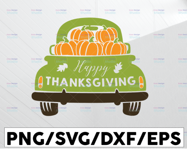 WTMETSY13012021 01 201 Vectorency Happy thanksgiving svg, dxf,eps,png, Digital Download