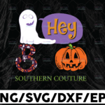 WTMETSY13012021 01 73 Vectorency Hey Boo southern couture png, halloween png Pumpkin png Digital Download