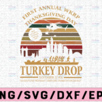 WTMETSY13012021 02 114 Vectorency First annual wkrp thanksgiving day turkey drop november 22 1978 svg, dxf,eps,png, Digital Download thanksgiving svg, turkey svg, thankful
