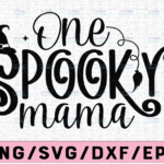 WTMETSY13012021 02 122 Vectorency One Spooky Mama Svg, Mom Halloween Svg, Mom Halloween Shirt Design Svg, Funny Mom Svg, Halloween Costume Svg Cut Files for Cricut