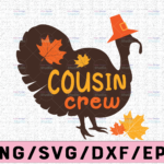 WTMETSY13012021 02 150 Vectorency Cousin crew svg, dxf,eps,png, Digital Download