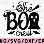 WTMETSY13012021 02 170 Vectorency The Boo Crew Svg, Halloween Svg, Boo Svg, Cute Ghost Svg, Spooky Cut Files, Halloween Shirt Svg,Fall, Silhouette, Cricut