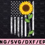 WTMETSY13012021 02 202 Vectorency Dispatcher Sunflower svg, Dispatcher svg, 911 dispatcher svg, distressed flag svg, Printable Cricut and Silhouette cut files