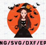 WTMETSY13012021 02 292 Vectorency Witch PNG, Witch Face png, Pretty Witch, Witch Hat png, Happy Halloween png, Funny Halloween Png Files for sublimation