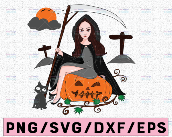 WTMETSY13012021 02 294 Vectorency Witch PNG, Witch Face png, Pretty Witch, Witch Hat png, Happy Halloween png, Funny Halloween Png Files for sublimation