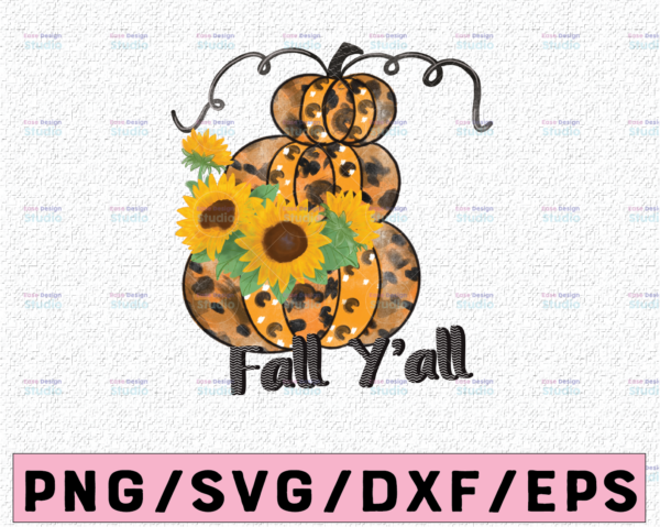 WTMETSY13012021 02 325 Vectorency Fall y'all PNG , Leopard Pumpkins png ,Sublimation design ,Instant download ,Fall shirt print , Autumn sublimation ,Leopard print