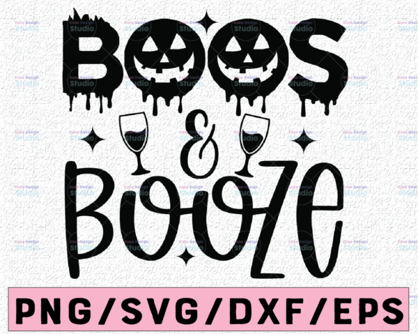 WTMETSY13012021 02 96 Vectorency Boos And Booze svg, Kids Halloween shirt svg, cute toddler svg, ghost svg, cut files for cricut, silhouette cut files, ghost png