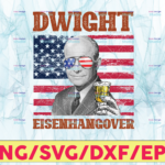 WTMETSY13012021 05 11 Vectorency Dwight Eisenhangover PNG, Presidents drinking, American flag bandana, Retro Vintage Summer 4th of July USA Independent day PNG,Digital Print