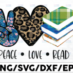 WTMETSY16122020 01 9 Vectorency Peace Love Read PNG, Reading Sublimation Design Png , Read PNG design, Reading Sublimation download, Transfers Ready To Press,