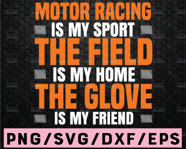 WTMETSY16122020 02 26 Vectorency Motor Racing Is My Sport Svg, Dirt Bike SVG, PNG, Commercial Licence, Clip Art, Cut File for Silhouette and Cricut, Cycling svg