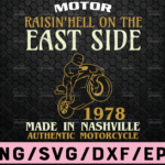 WTMETSY16122020 02 52 Vectorency Motor Raisin'Hell on The East Side SVG motor racing svg eps dxf png Files for Cutting Machines Cameo Cricut