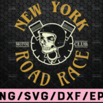 WTMETSY16122020 02 56 Vectorency Newyork Proud Race SVG, Funny Skull svg motor racing svg eps dxf png Files for Cutting Machines Cameo Cricut
