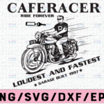 WTMETSY16122020 02 63 Vectorency Caferacer Ride Forever Svg, Trending Svg, Caferacer Svg, Racer Svg, Vintage Racer Svg, Retro Racer Svg, Coffee Racer Svg, Motorcycle Svg