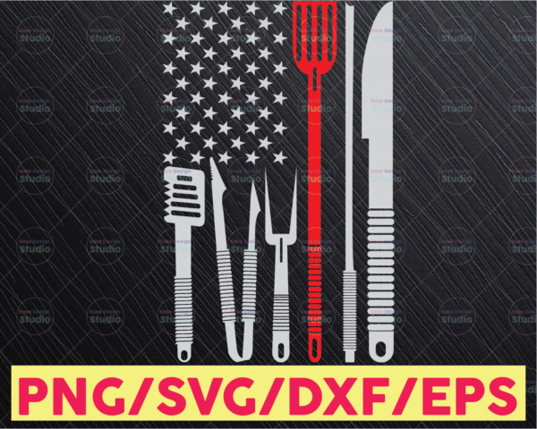 WTMETSY16122020 05 115 Vectorency Cooking svg, Chef svg, Cook svg, USA American Flag, Distressed, Vintage, Vector SVG Design for Cricut