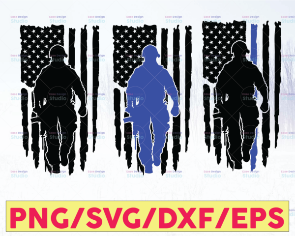 WTMETSY16122020 05 232 Vectorency Police Flag Bundle, Police Thin Blue Line SVG  The Blue Lives Matter  Police Life Svg  Police Quotes svg png dxf