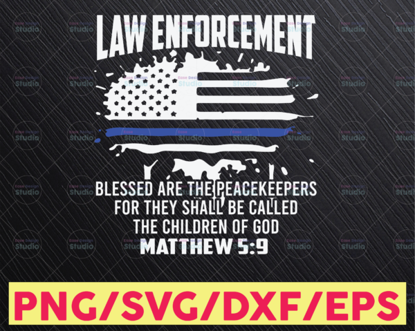 WTMETSY16122020 05 294 Vectorency Law Enforcement Police Thin Blue Line SVG |The Blue Lives Matter| Police Life Svg| Police Quotes svg png dxf