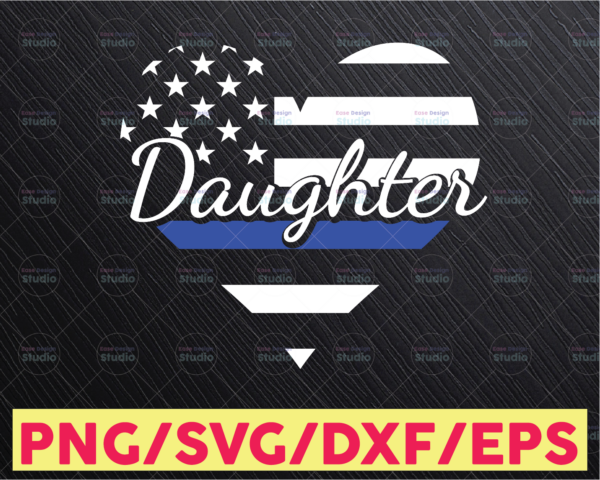 WTMETSY16122020 05 310 Vectorency Police Daughter svg, Police Thin Blue Line SVG |The Blue Lives Matter| Police Life Svg| Police Quotes svg png dxf
