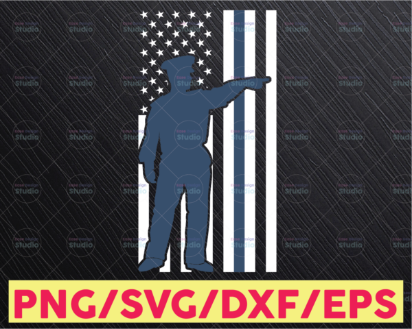 WTMETSY16122020 05 319 Vectorency Police Flag svg, Police Thin Blue Line SVG  The Blue Lives Matter  Police Life Svg  Police Quotes svg png dxf