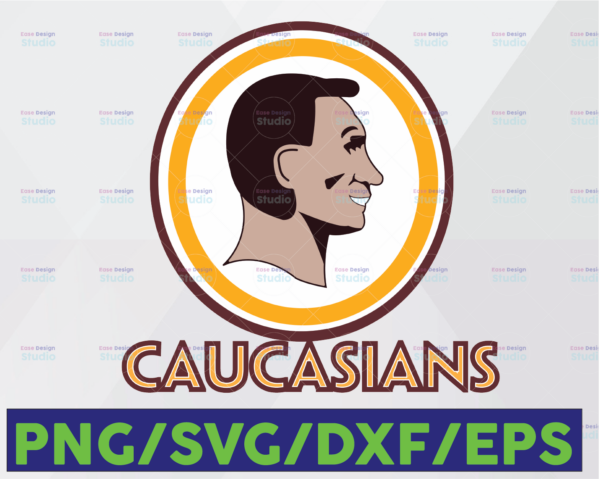 WTMETSY16122020 06 29 Vectorency Washington Football Caucasians Svg, Caucasian Svg,Washington Caucasian,Caucasian Players Cut file for cricut files Clip Art Eps, Svg,Dxf,Png