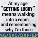 WTMETSY16122020 06 30 Vectorency At My Age Getting Lucky Means Walking Into A Room And Remembering Why I Am There Svg Png Dxf Eps Cut file Silhouette Cricut