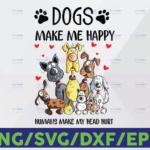 WTMETSY16122020 06 37 Vectorency Dogs Make Me Happy png, Humans Make My Head Hurt png, Dog Lover png, Animal Lover png, Funny Dog, Funny Dog Digital Files Png