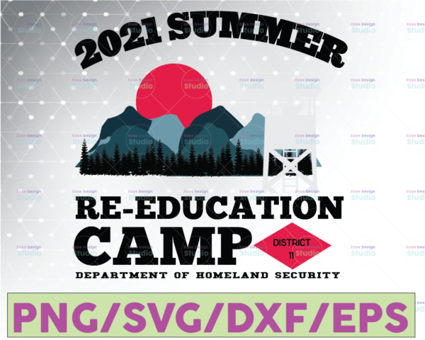 WTMETSY16122020 07 17 Vectorency 2021 Summer Re-Education Camp Svg PNG Digital File Download,SunSet,The Guards,Education Camp Printable Sublimation Transfer Digital File