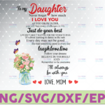 WTMETSY16122020 07 41 Vectorency To My Daughter PNG, Mother's Day Gift, Never Forget How Much I Love You, Love Mom Png, Gift For Daughter, Custom Family