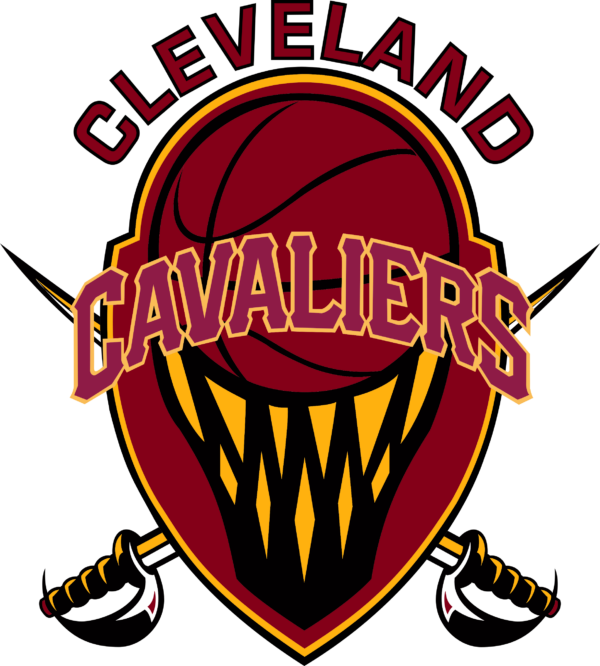 cavaliers 17 Vectorency Cleveland Cavaliers Basketball SVG, SVG Files For Silhouette, Files For Cricut, SVG, DXF, EPS, PNG Instant Download