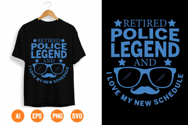 dfsdf scaled Vectorency Retired Police Legend svg, Police Thin Blue Line SVG |The Blue Lives Matter| Police Life Svg| Police Quotes svg png dxf
