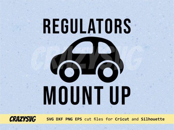 regulators mount up svg