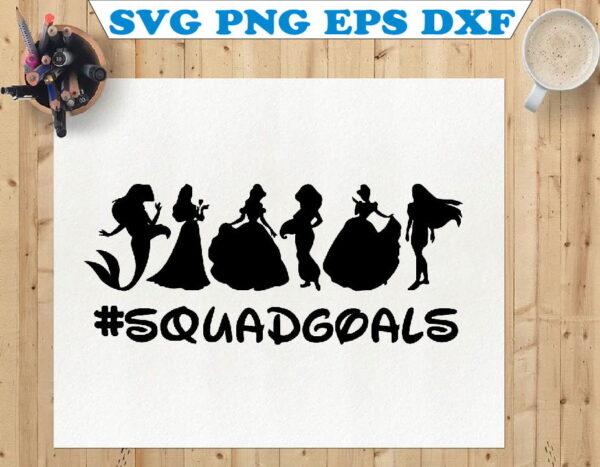 wtm 01 122 Vectorency Princess SVG, Princess Squad Goals SVG, Disney Squad Goals SVG, Disney Princess SVG, Princess SVG Layered, Princess Cut File, Princess SVG