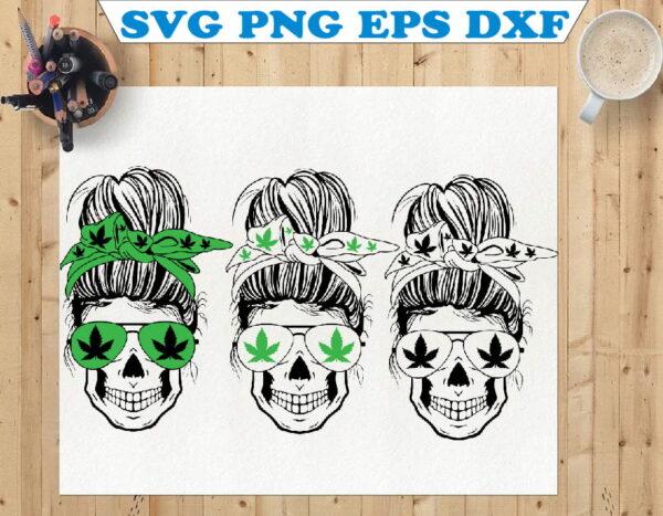 wtm 01 89 Vectorency Weed Momlife SVG, Marijuana SVG, Cannabis, Momlife SVG, Mom Skull SVG, Messy Bun Classy Afro Woman SVG, Printable, Cricut & Silhouette
