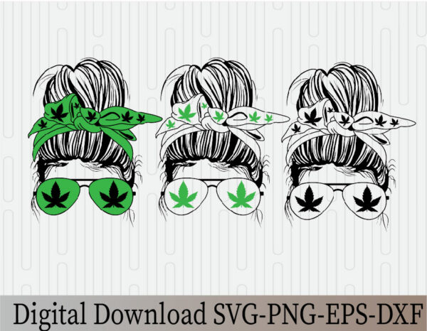 wtm 03 18 Vectorency Weed Momlife SVG, Marijuana SVG, Cannabis, Momlife SVG, Mom Skull SVG, Messy Bun Classy Afro Woman SVG, Printable, Cricut & Silhouette