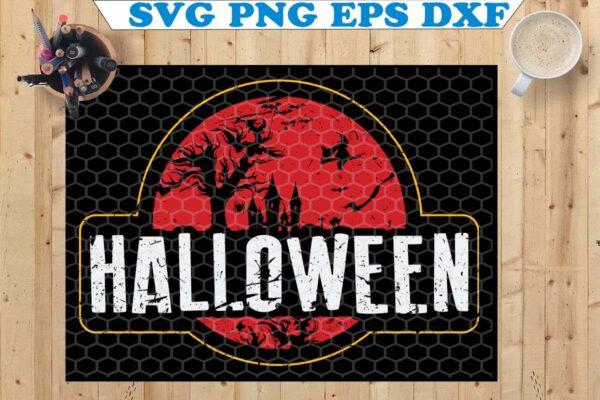 wtm 11 Vectorency Vintage Halloween SVG, Pumpkin Witch Devil Ghost Zombie, Halloween SVG, Halloween Vintage SVG