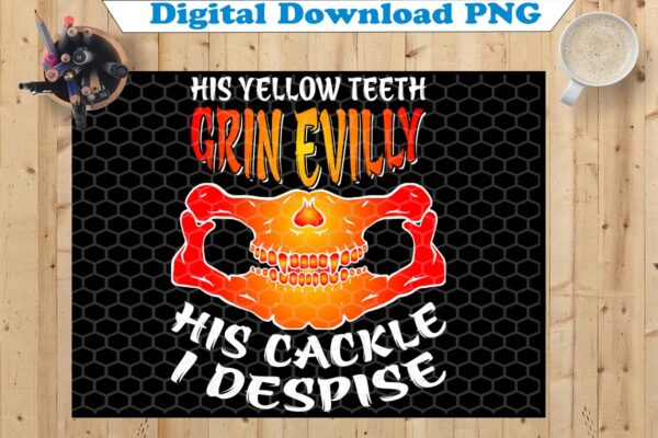 wtm copy 19 Vectorency His Yellow Teeth Grin Evilly PNG, Happy Halloween PNG, Cute Halloween PNG, Halloween PNG, Halloween Funny Shirt, Halloween Party