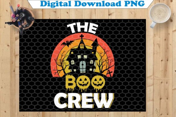 wtm copy 38 Vectorency The Boo Crew PNG, Halloween PNG, Boo PNG, Ghost PNG, Spooky Cut Files, Halloween Shirt, Bats Clipart, Fall, Silhouette, Cricut