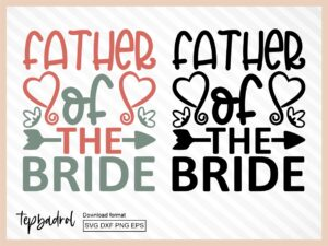 Father of the Bride SVG