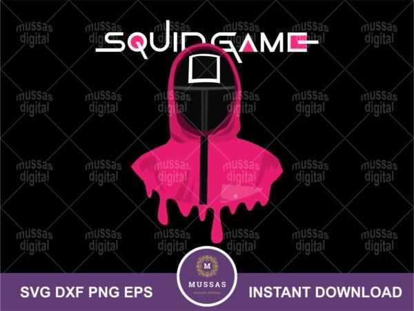 Netflix Drama Squid Game SVG Imposter Cut File