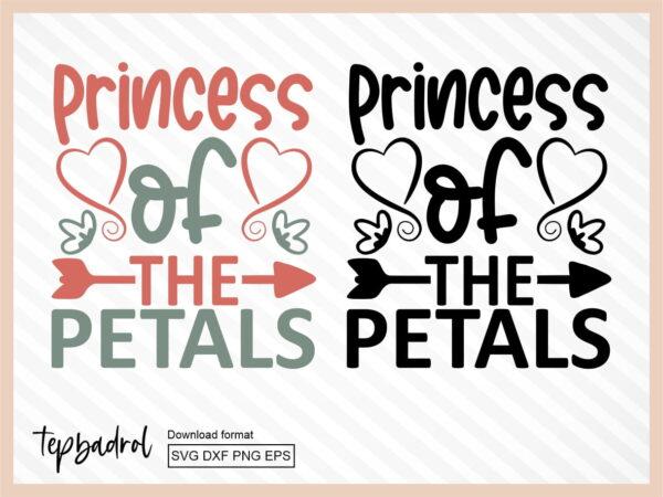 Princess Of The Petals SVG